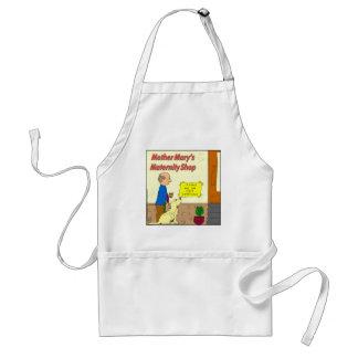 772 wait conscious cartoon adult apron
