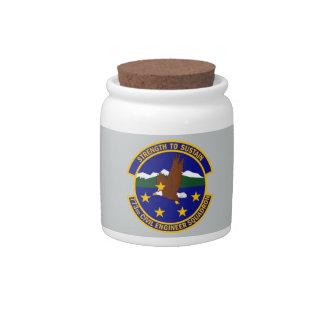 773rd Civil Engineer Squadron Candy Jar