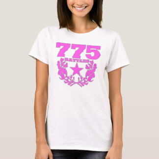 775 Battles Girls Pink / Grey Logo T-Shirt