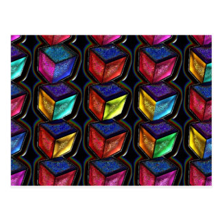 7772 abstract post cards