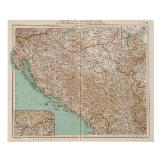 7778 Yugoslavia Póster