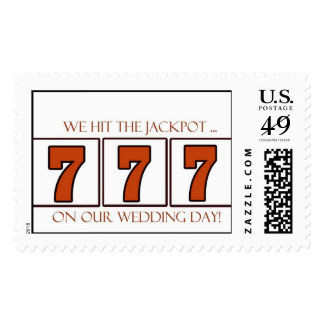 777 070707 wedding stamps for your wedding day