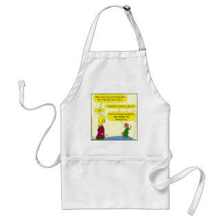 777 doctors keep best babies cartoon adult apron
