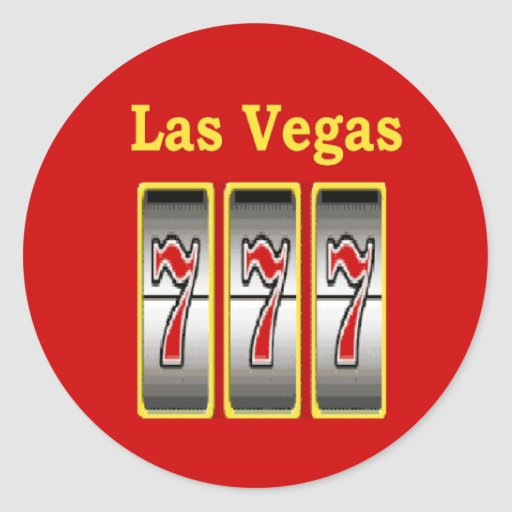 777 las vegas stickers zazzle for Arts and crafts stores in las vegas