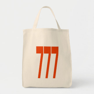 777 long rouge fond blanc bags
