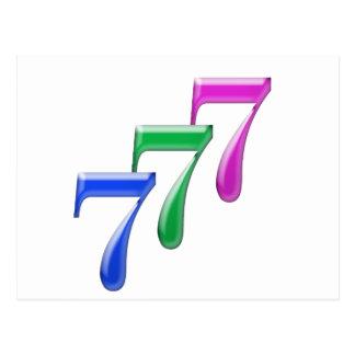 777 POSTALES