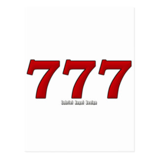 777 POSTCARD