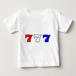 777 red white and blue baby T-Shirt