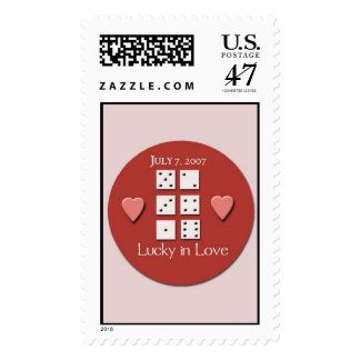 777 wedding stamps 070707 Special Wedding day