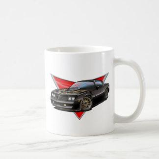 77-78 Black Firebird Coffee Mug