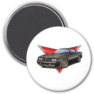 77-78 Black Firebird Magnet