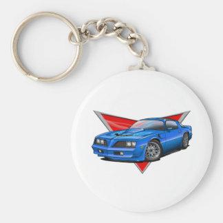 77-78 Blue Firebird TA Keychain