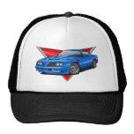 77-78 Blue Firebird TA Mesh Hats