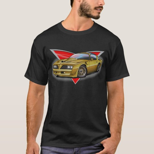 77-78 Gold Firebird T-Shirt