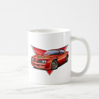 77-78 Red Firebird TA Coffee Mug