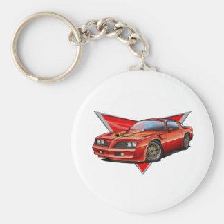 77-78 Red Firebird TA Keychain