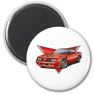 77-78 Red Firebird TA Magnet
