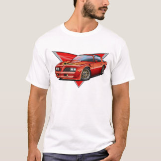 77-78 Red Firebird TA T-Shirt