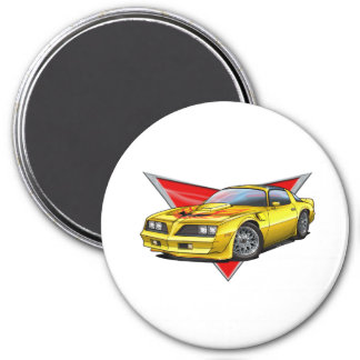 77-78 Yellow Firebird TA Magnet