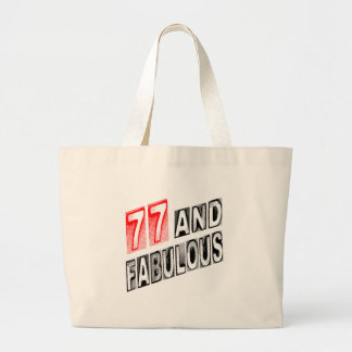 77 And Fabulous Canvas Bags