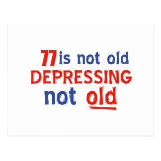 77 años no son viejos postal