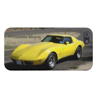 '77 Corvette Case Savvy iPhone 5/5S Case