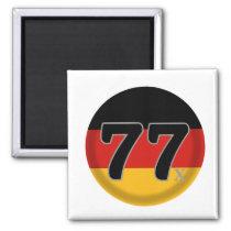 77 Deutschland Generation X Magnet