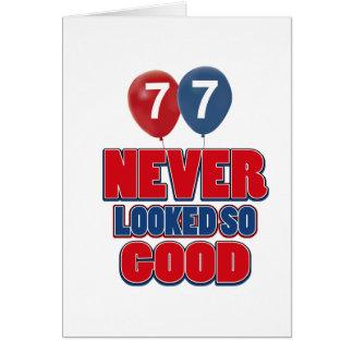 77 miradas buenas tarjeta de felicitación