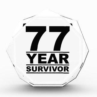 77 year survivor award