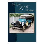 77th Birthday Cards