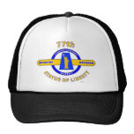 """77TH INFANTRY DIVISION """"STATUE OF LIBERTY"""" TRUCKER HAT"""