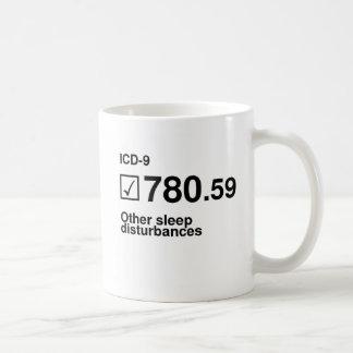 780.59, Other sleep disturbances Classic White Coffee Mug