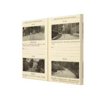 78285 Tarrytown, Ossining Impresión En Lona Estirada