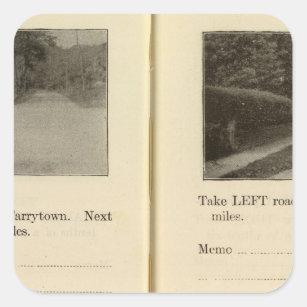78285 Tarrytown, Ossining Square Sticker