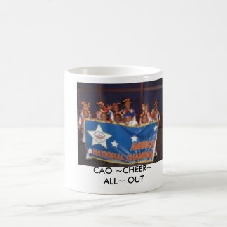 786233042475d8ba0d9103, CAO ~CHEER~ ALL~ OUT Classic White Coffee Mug