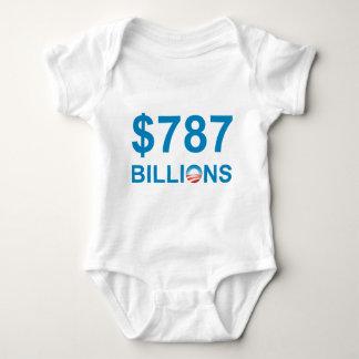 $787 BILLIONS BABY BODYSUIT