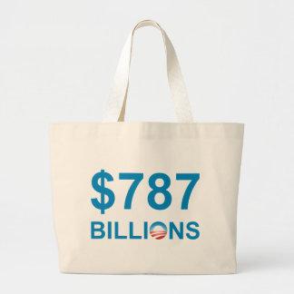 $787 BILLIONS TOTE BAG