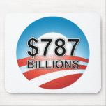 $787 BILLIONS MOUSE PADS