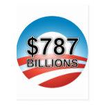 $787 BILLIONS POSTCARD