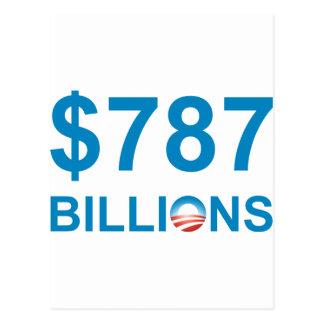$787 MIL MILLONES POSTALES