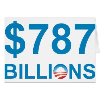 $787 MIL MILLONES TARJETA DE FELICITACIÓN