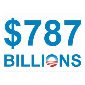 $787 MIL MILLONES TARJETA POSTAL