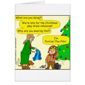 787 Pontius Pilate cartoon Card