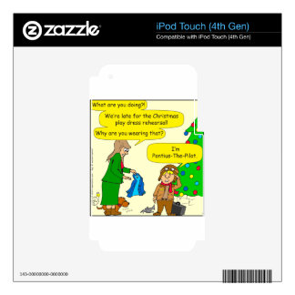 787 Pontius Pilate cartoon Decals For iPod Touch 4G