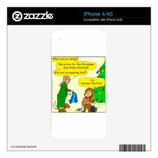 787 Pontius Pilate cartoon Skin For iPhone 4