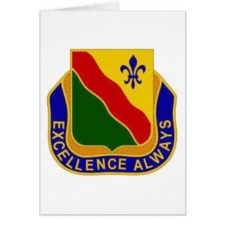 787o Batallón de la policía militar Tarjeta De Felicitación