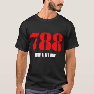 788 Bars - HissTank.Com T-Shirt