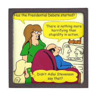 789 presidential debate cartoon jewelry box