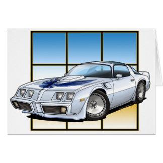78-81 transporte tarjeta de felicitación
