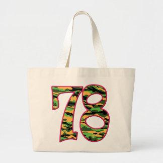 78 Age Camo Jumbo Tote Bag